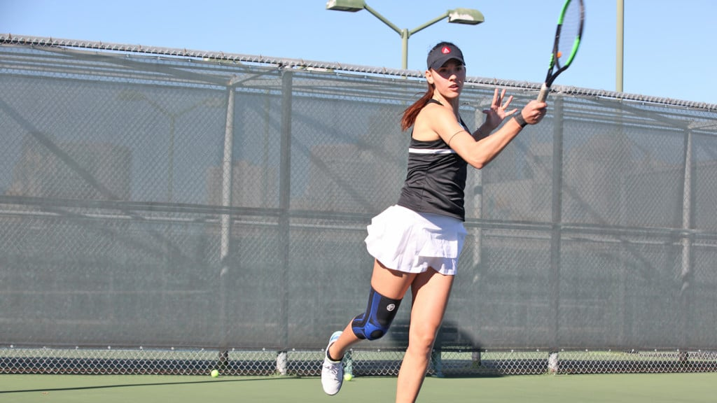 Mariacristina Andrisani of ART U Tennis Women's Team