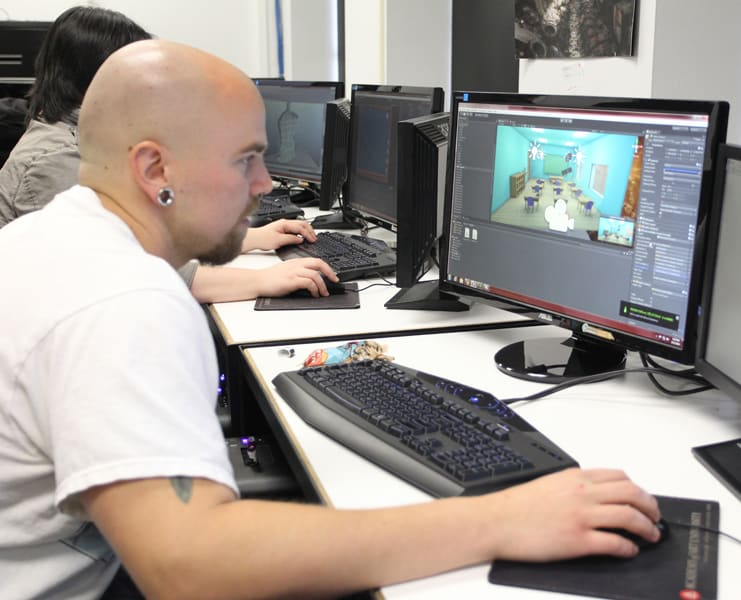 Game Programming is the Academy's First BS Degree